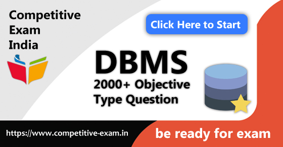 DBMS Objective Type Questions   PDF Download   2019  Page 1