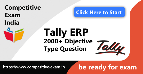 Tally Objective Type Questions | PDF Download | 2019| Page 1