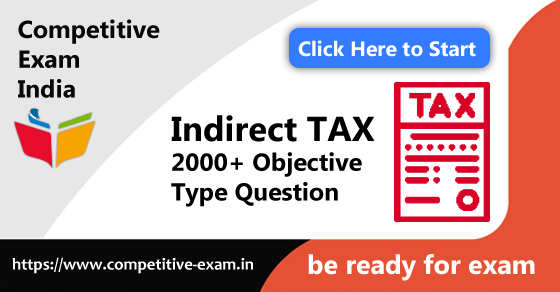 Indirect TAX Objective Type Questions | PDF Download | 2019| Page 5