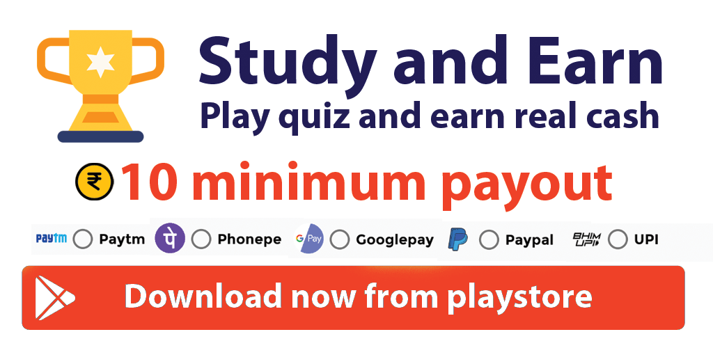 Study and Earn Android App